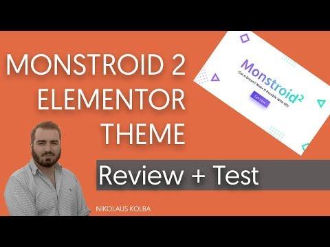 Monstroid 2 Elementor WordPress Theme - Review [GER/HD] - TemplateMonster