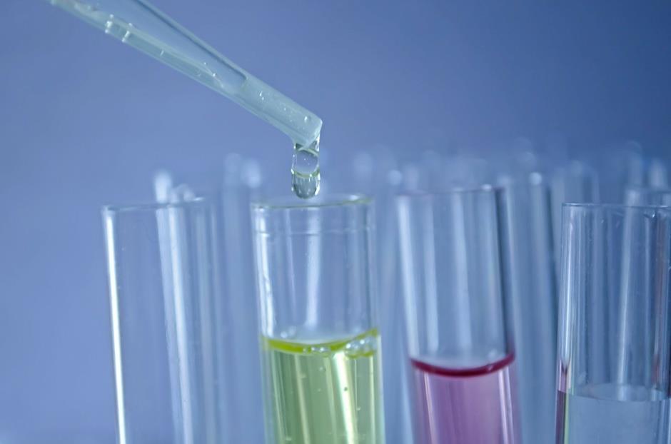 Labor Reagenzgläser