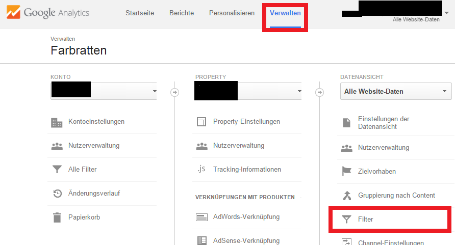 how to add filter in google analytics