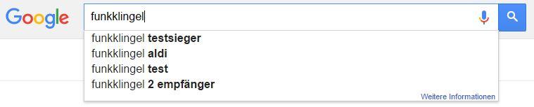 Google Suggest abfrage