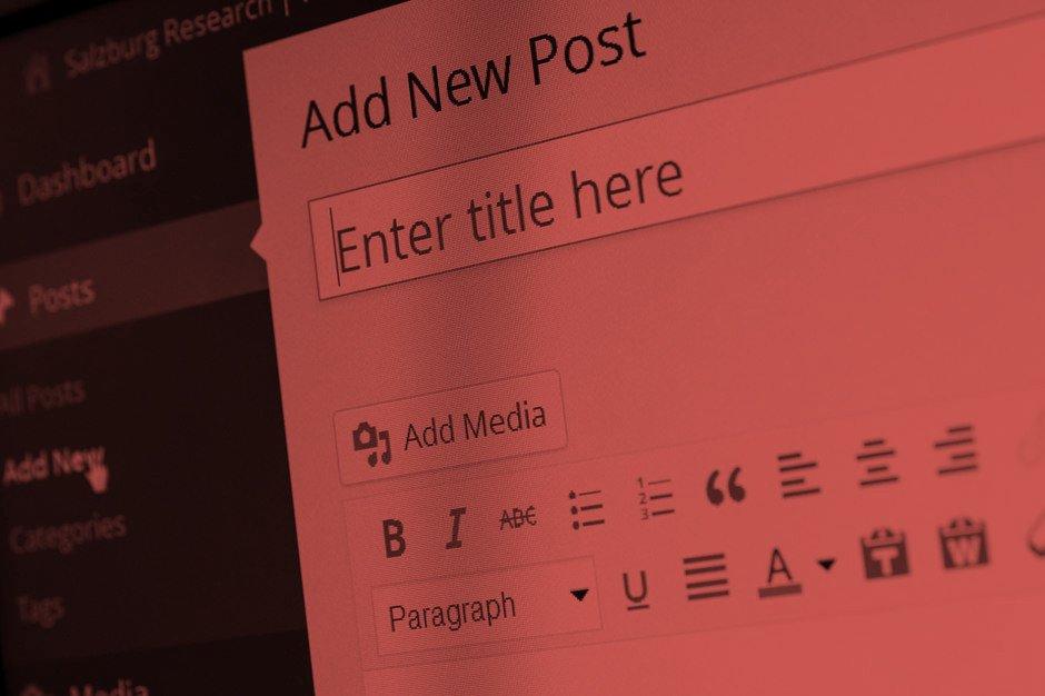 Wordpress Content schreiben