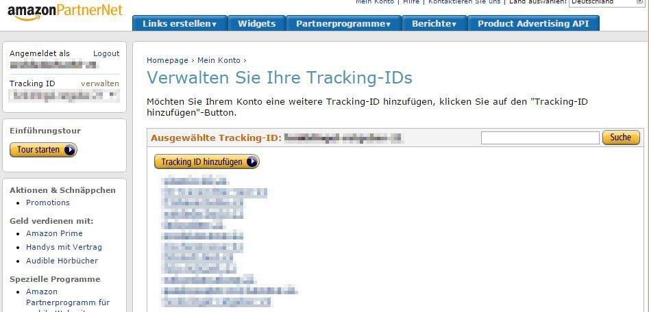 Amazon Affiliate for WordPress - Amazon PartnerNet - Tracking ID