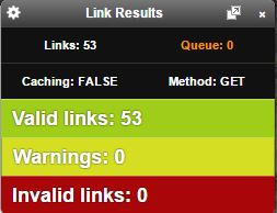 Check My Links - Link Results