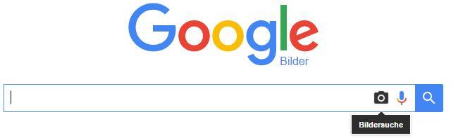 Google Bildersuche Kamera Symbol