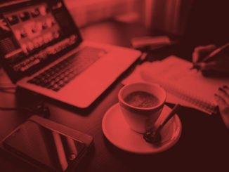 Online Business Arbeitsplatz