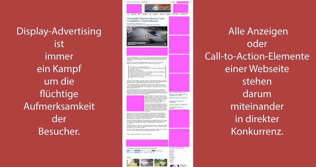 Display-Advertising-Aufmerksamkeit