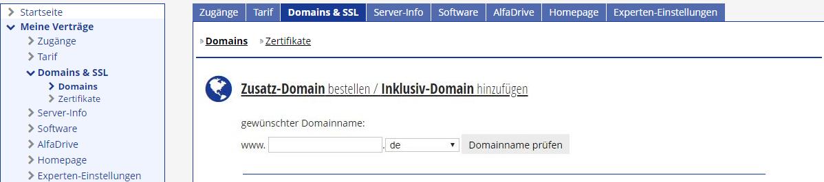 Wie Du Bei Alfahosting Dein Hosting Paket Die Domain Einrichtest