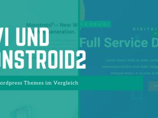 Divi und Monstroid2 Theme - FB