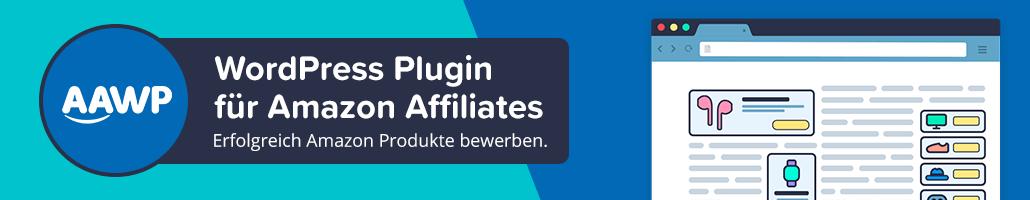 AAWP Amazon Affiliate Plugin